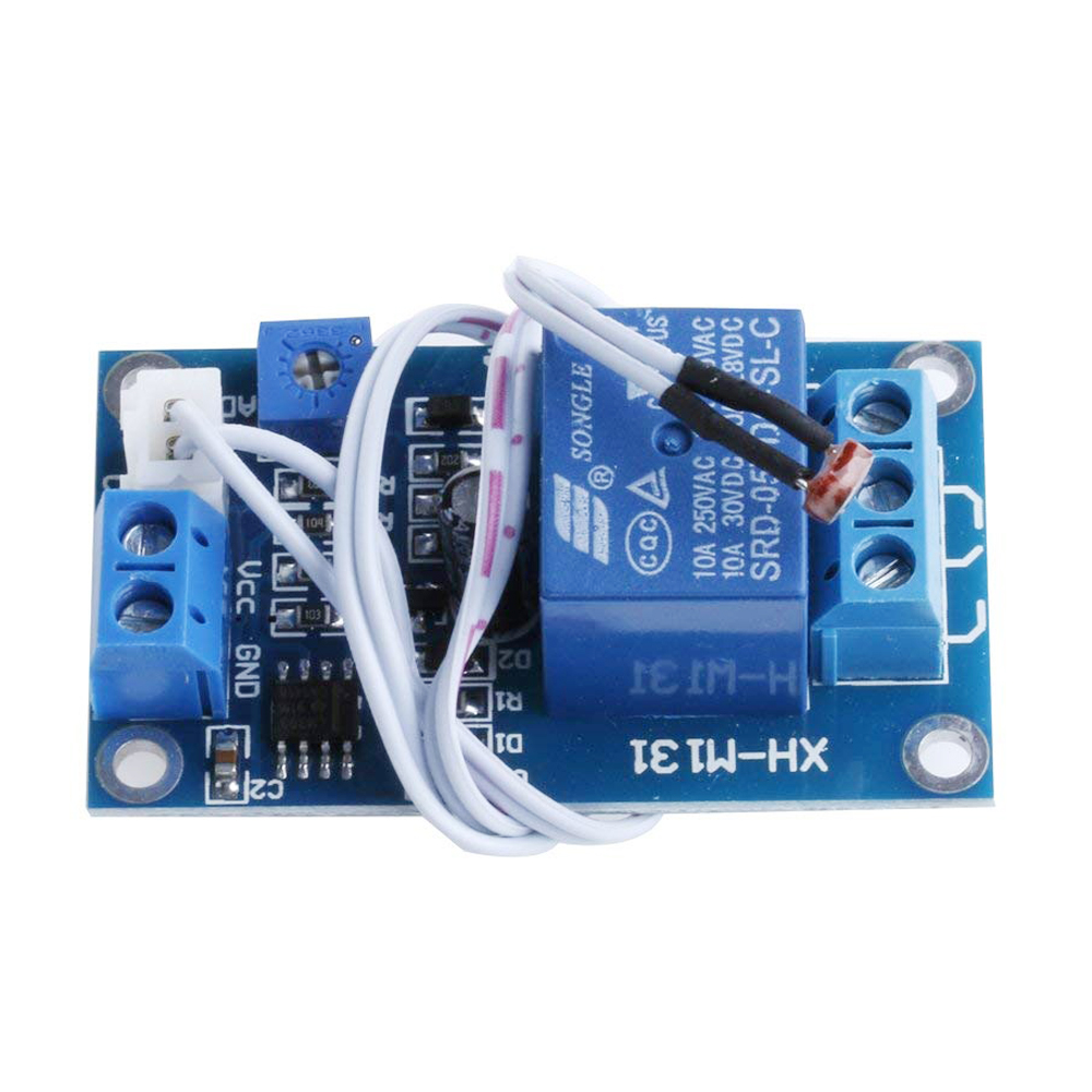 Detail Feedback Questions About Xh M131 Dc 5v 12v Light Control Common Terminal In Relay Red Led On Indicate The Power Blue Is Working Module Output Has Three Ports Normally Open No Com