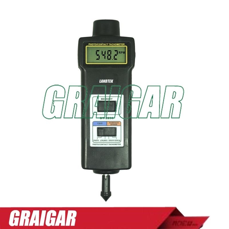 Wide measuring range and high resolution Tachometer DT-2236 tachometer dt 2236 digital revolution
