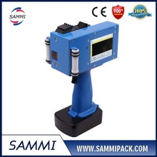 New arrival touch screen handheld inkjet printer for bar code on plastic, metal, wood, stone, building materials AU-127C