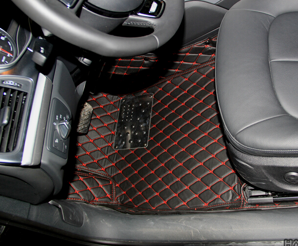Good mats! Special floor mats for Audi A6 Allroad 2016 waterproof non-slip foot carpets for A6 Allroad 2015-2013,Free shipping