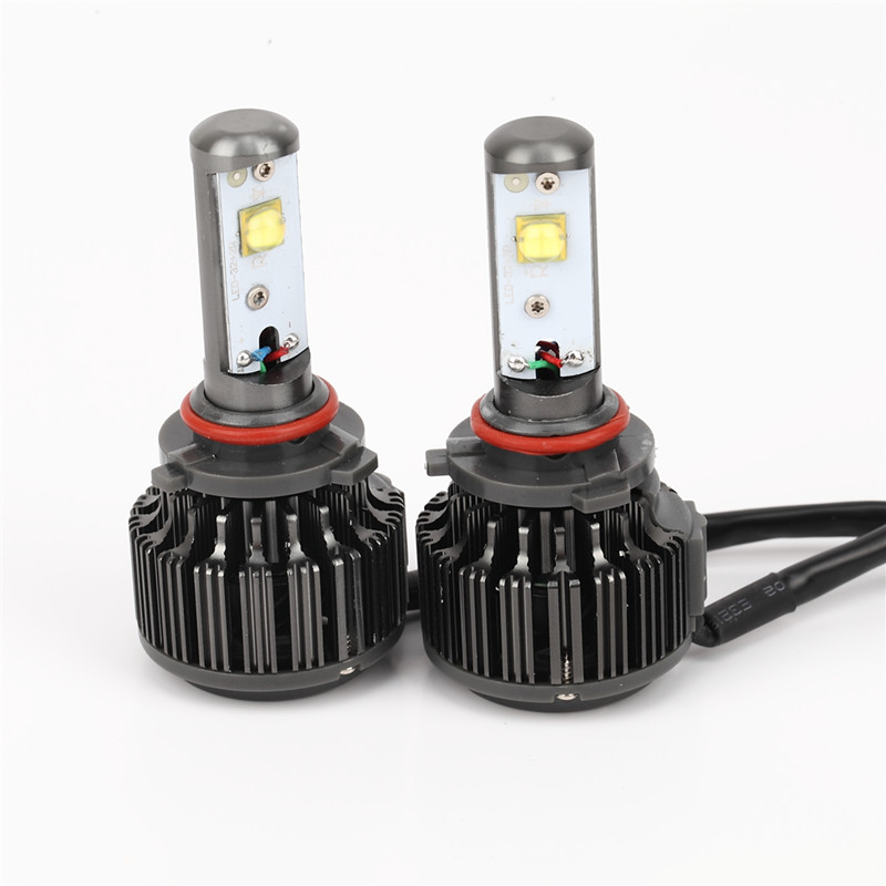 ФОТО 2X Car LED Headlight 12V 24V 60W 7200LM 6000K Light Auto Headlamp Bulb Kit H1 H3 H4 H7/8/9 H11 H13 9004 9005 9006 9007 880 881