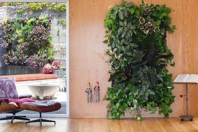 7/9 Pockets Wall Garden Hanging Plant Bag Outdoor Indoor Planter Wall Pots Hanging Vertical Felt Flower Pot Seeding Pot Grow Bag