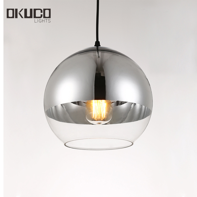 buy mirror ball light pendant lamp plated. Black Bedroom Furniture Sets. Home Design Ideas