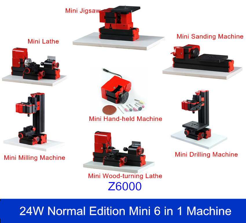 The First Tool Mini 6 in1  Woodturning Machine, Jigsaw ,Sanding/Drilling/Milling Machine the jigsaw man
