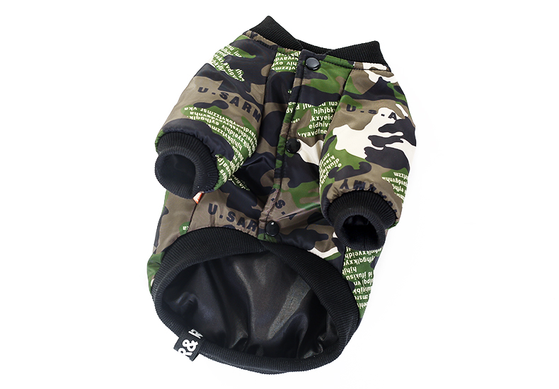 Camouflage Pets Dog Winter Clothes Thermal Fleece Warm Pilot Costume Halloween Clothes for Dog Chihuahua Coat (4)