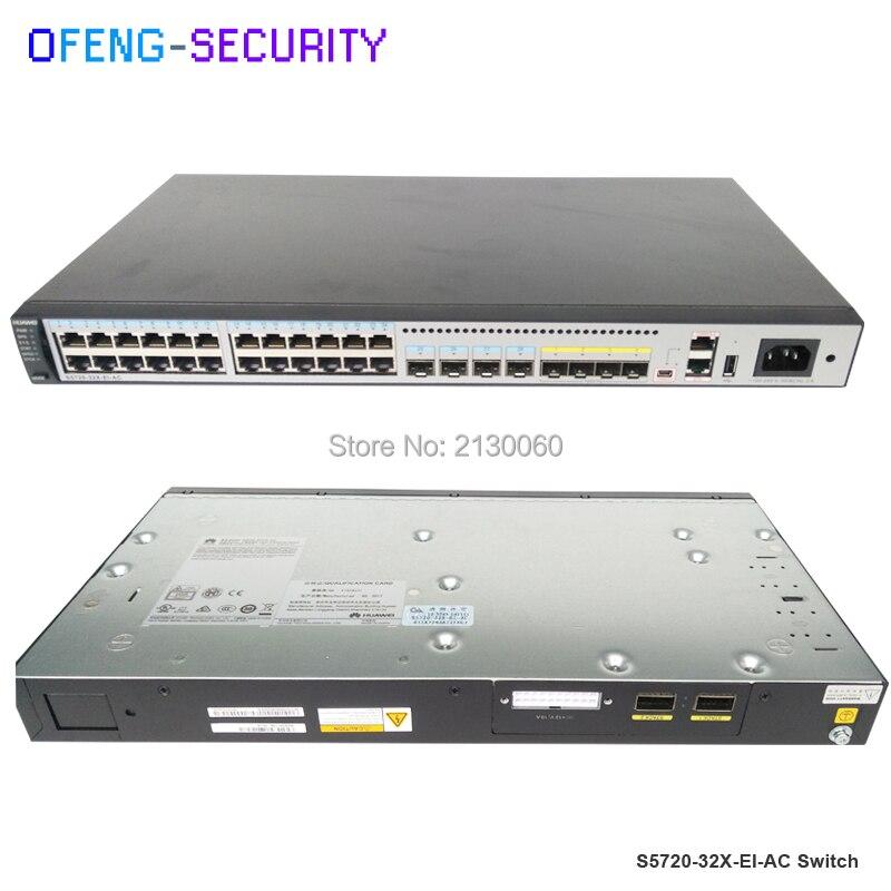 24 port commutateur D'origine Huawei commutateur S5720-32X-EI-AC avec 24 port sfp S5720 32X EI AC