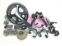 Shimano 6800 groupsets UltegraจักรยานถนนGroupset 170/172. 5 50-34 50-34 11-28ครั้งจักรยานกลุ่มชุด2*11ความ