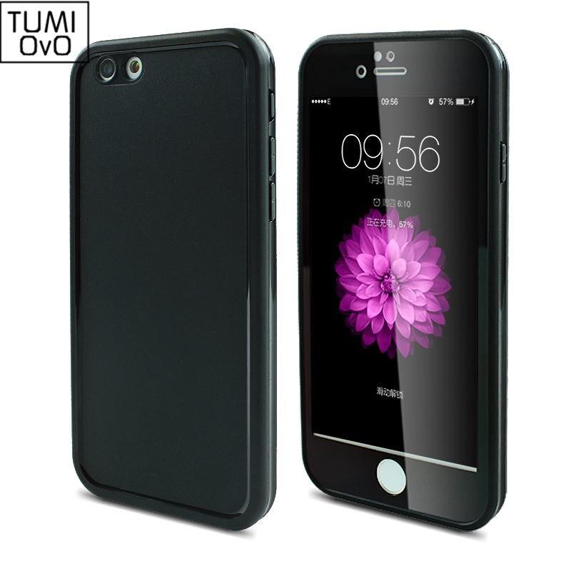 IPhone 7 üçün yumşaq silikon suya davamlı TPU qutuları, lüks 5 - Cib telefonu aksesuarları və hissələri - Fotoqrafiya 6