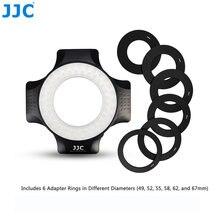 Jjc фото студия dslr видео вспышка камера speedlite лампы кольцо