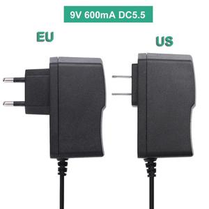 1Pc 9V 600mA Power Supply Adapter Charger for TP-LINK T090060 450M 300M Router US EU Plug Power Supply Adapter Charger Promotion(China)