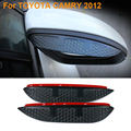 2016 Car Styling Carbon Rearview Mirror Rain Blades Car Back Mirror Eyebrow Rain Cover Protector For TOYOTA CAMRY 2012-2016