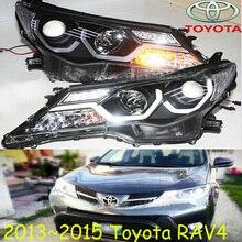 RAV4 headlight,2013~2015,SUV,Free ship! RAV4 fog light,RAV4 Offroad light,2ps/set+2pcs Ballast,rav4 driver light,RAV 4