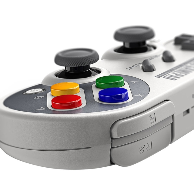 Retro Style Bluetooth Gamepad