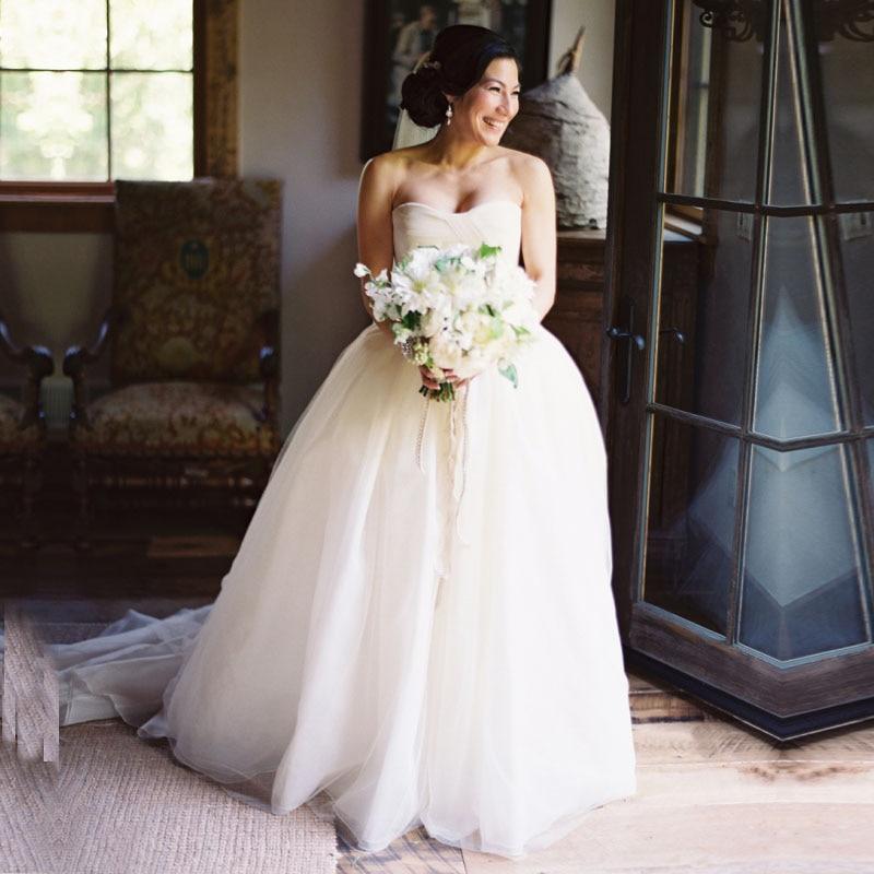 Champagne Color Wedding Dresses Vestidos De Noiva 2017
