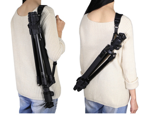 Image 5 - 10pcs/lot Tripod Monopod Shoulder Strap Light Tripod Stand Suspender Carrying Belt for Tripod Photo Studio kits tripod shoulder