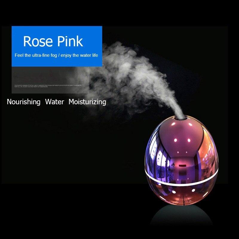 Auto Luftbefeuchter Tragbare USB Mini Aroma Befeuchter Diffusor Led-leuchten Ultraschall-luftbefeuchter für Geschenk