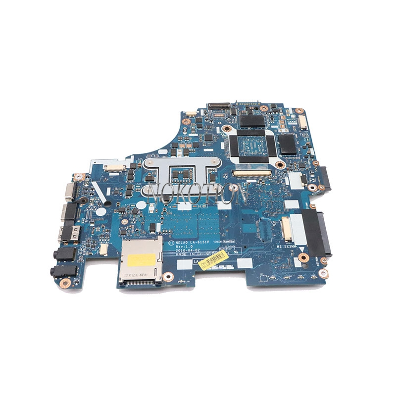 MB.WQ502.001 Gateway ID49C Intel Laptop Motherboard Core i NELA0 LA-6151P
