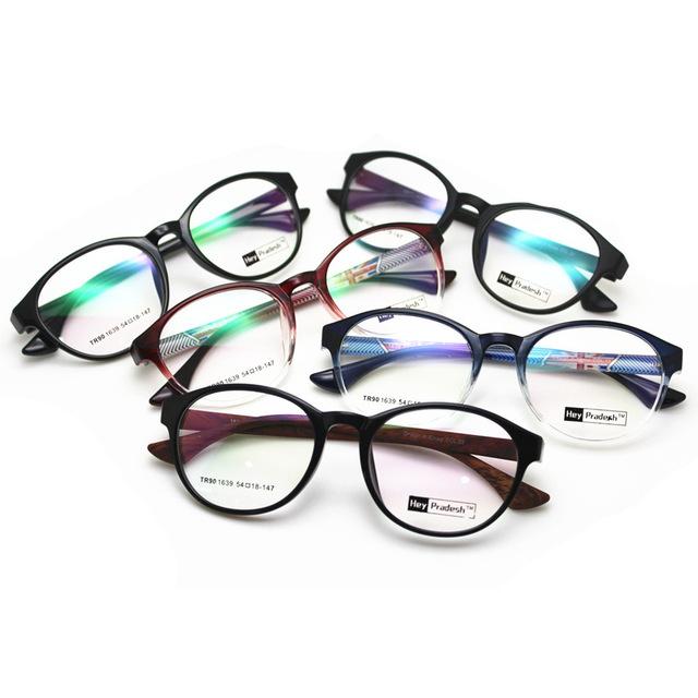 Brightzone Novo Padrão Coreano Restaurar Antigas Formas Óculos de Miopia TR90 Luz RX-capaz de Ultrapassar Espetáculo Quadro