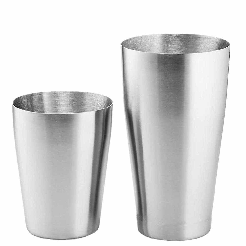 1 Piece American Boston Shaker Cocktail Glass Bar Tool Mixing Beverage Bartender Bar Tool Upper 600ml Rear Cup 450ml K20