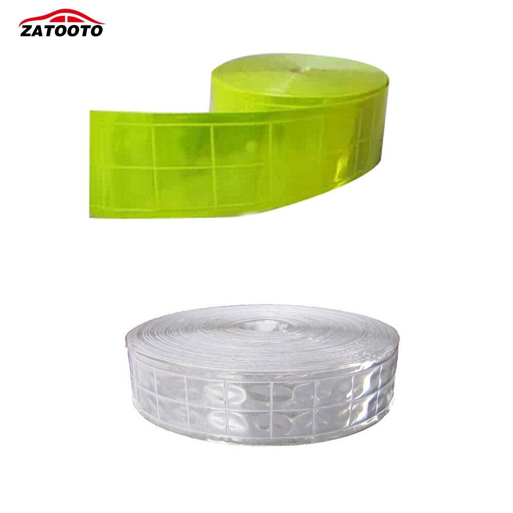 ZATOOTO 5cm *50m Yellow Lime Gloss Reflective Tape PVC Sew On Material GrayZATOOTO 5cm *50m Yellow Lime Gloss Reflective Tape PVC Sew On Material Gray