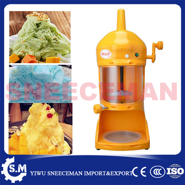 90kg h Hot used shaved ice machines font b Electric b font Snow Ice Cream font