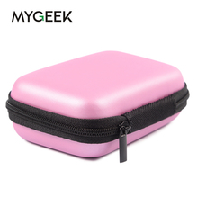 MyGeek Tiny Macaron Wallet Case for mobile phone cable USB charger key and some make up phone bag