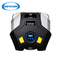Carzkool 25 9 5 26cm Multi Function Lighting Inflation Pressure Pump Digital Display Double Cylinder Inflatable