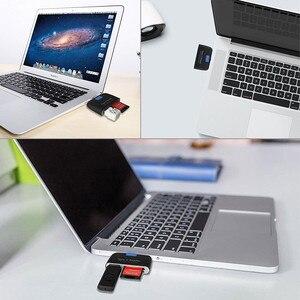 Image 5 - Baolyda 알루미늄 타입 c 마이크로 usb 카드 리더 4in1 otg/tf/sd 스마트 미니 카드 리더 어댑터 usb/마이크로 usb 충전 전화 포트
