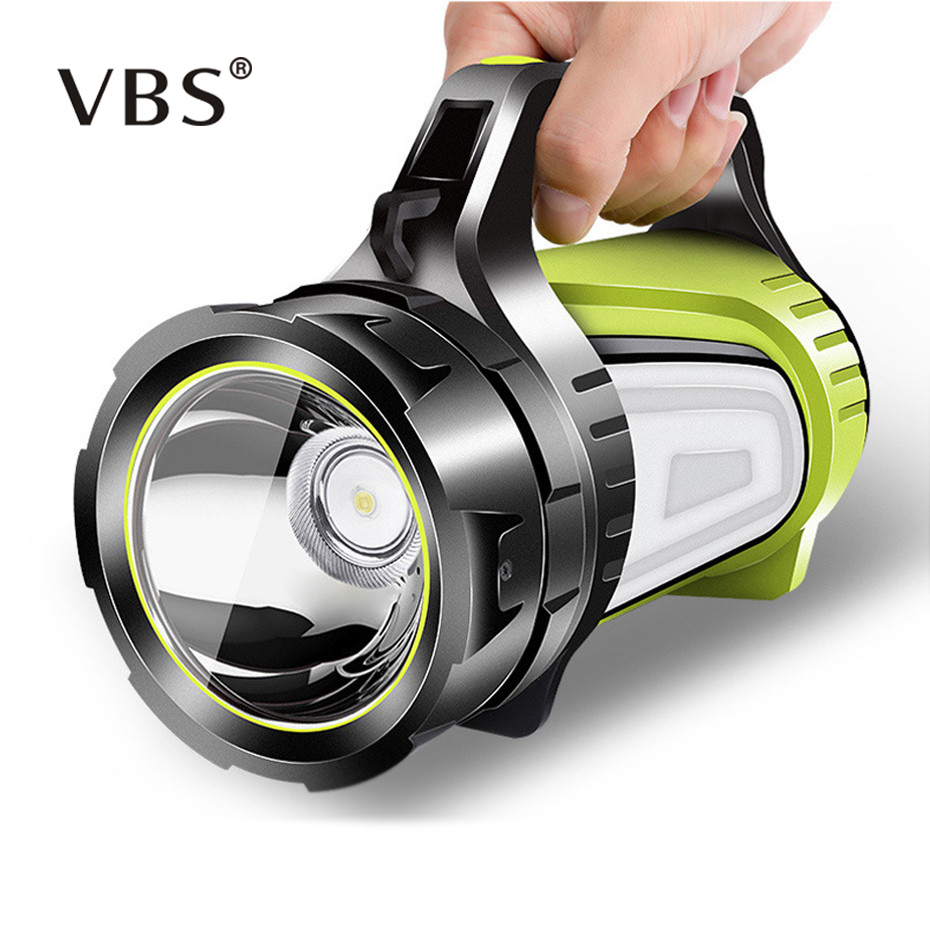 High Power LED Flashlight Handed Portable Spotlight USB Rechargeable Work Light Torch Searchlight Multi-function Hunting Lamp   High Power LED Flashlight Handed Portable Spotlight USB Rechargeable Work Light Torch Searchlight Multi-function Hunting Lamp