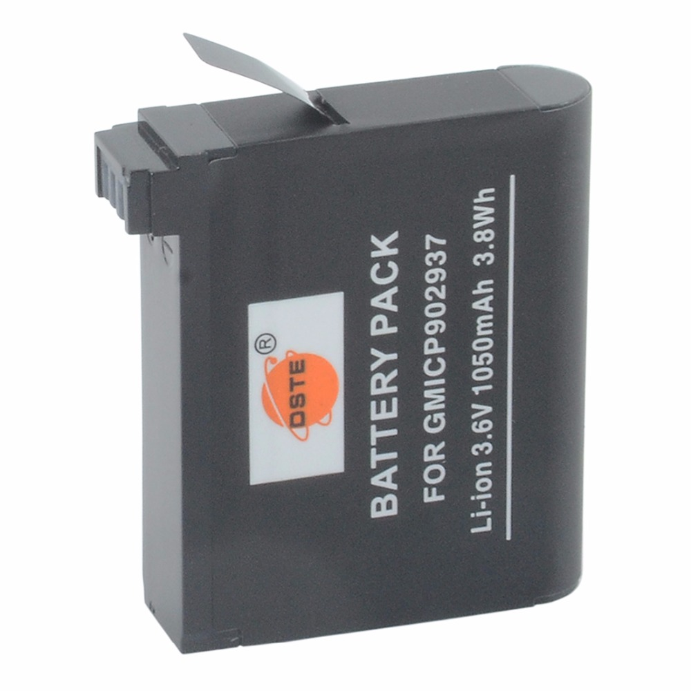 DSTE GMICP902937 Li-ion Battery for Garmin VIRB ULTRA 30 Sports Camera
