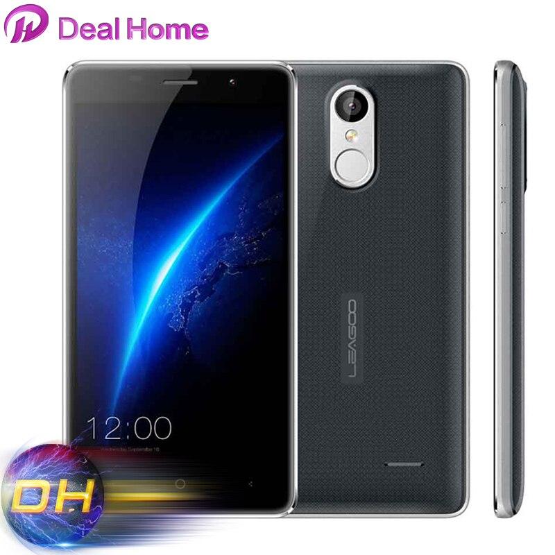 Цена за Наушники) подарок! Оригинал Leagoo M5 Мобильного Телефона MTK6580A Quad Core 2 ГБ + 16 ГБ Android 6.0 Отпечатков Пальцев 8.0MP 5.0 Дюймов Смартфон