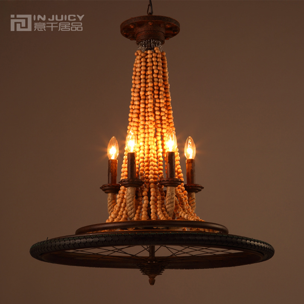 Online buy wholesale wooden chandelier beads from china wooden chandelier beads wholesalers - Old chandeliers cheap ...