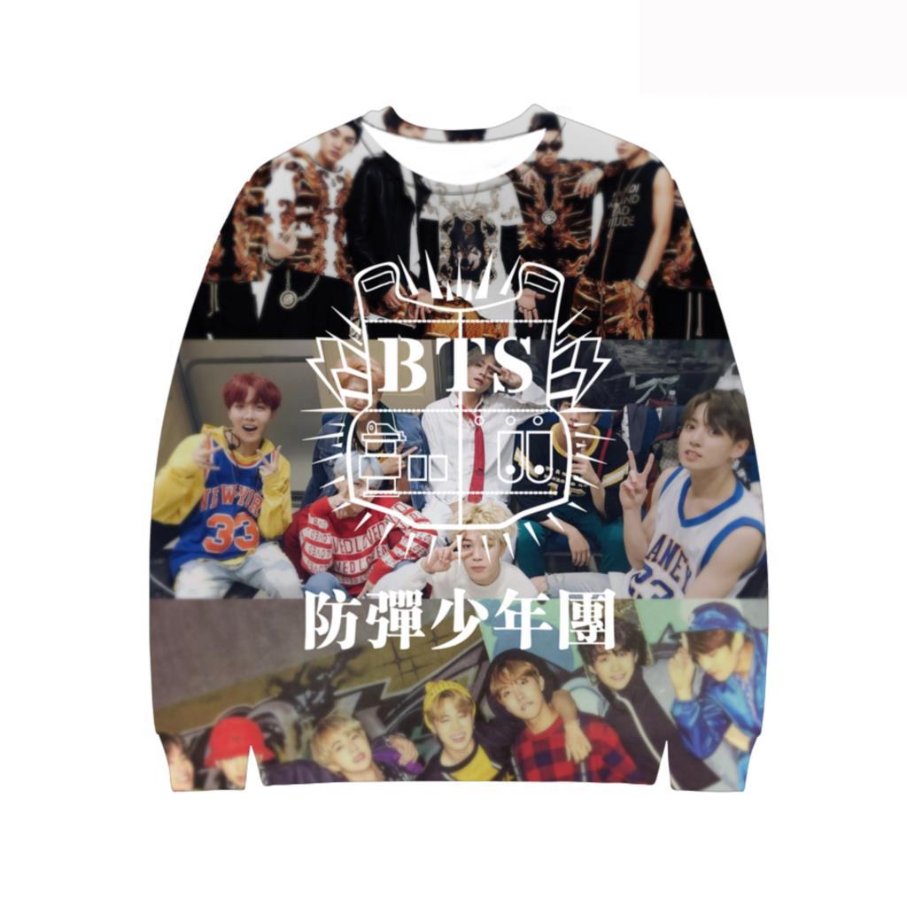 Good Style Fashion Printing Design BTS Kpop 3D Capless Hoodies Men Women Sweatshirts Casual Brand Hoodie Clothes