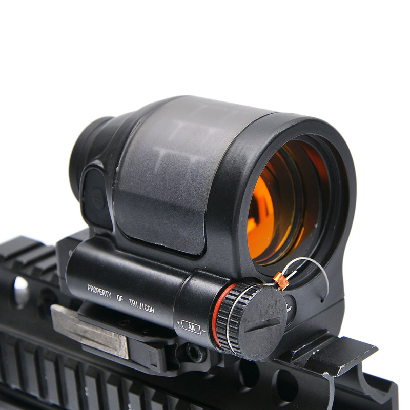 SRS 1X38 Red Dot Sight Scope Tactical Hunting Scopes Reflex Sight Solar Power System With QD Mount Optics Rifle Scope utg 4 2 ita red green cqb dot sight scope tactical with qd mount riser adaptor scp ds3840w hunting equipment