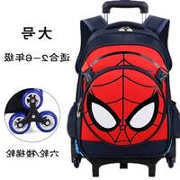 CARRYLOVE Multifunction Rolling Luggage School backpack Travel Trolley Bag Case Suitcase spiderman for hero fans