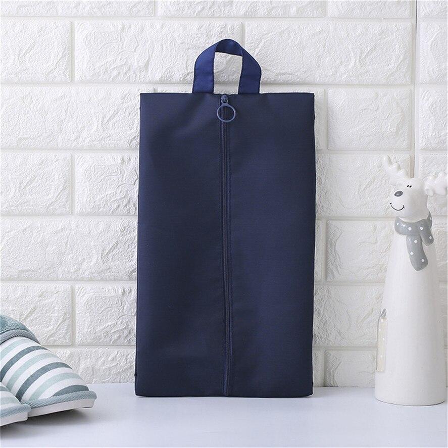 Portable Travel Shoe Bag Zip View Window Pouch Storage Waterproof Bags 1PC