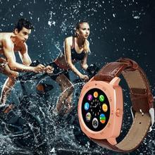 """Smart watch 1.22 """"inch runden bildschirm unterstützung sport bluetooth freisprecheinrichtung bt3.0 smartwatch für apple für huawei für iphone"""