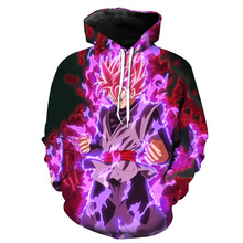 Dragon Ball Z Vegeta 3D Hoodie Pullovers