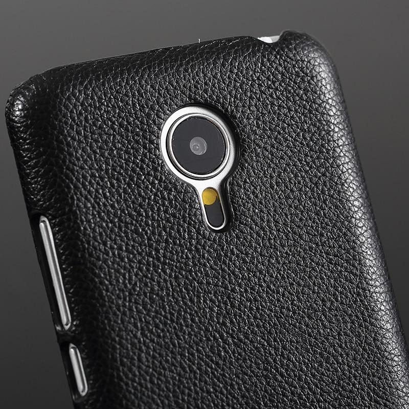 FERISING Meizu MX5 Fodral Lyxigt 100% äkta äkta skinnskydd för - Reservdelar och tillbehör för mobiltelefoner - Foto 2