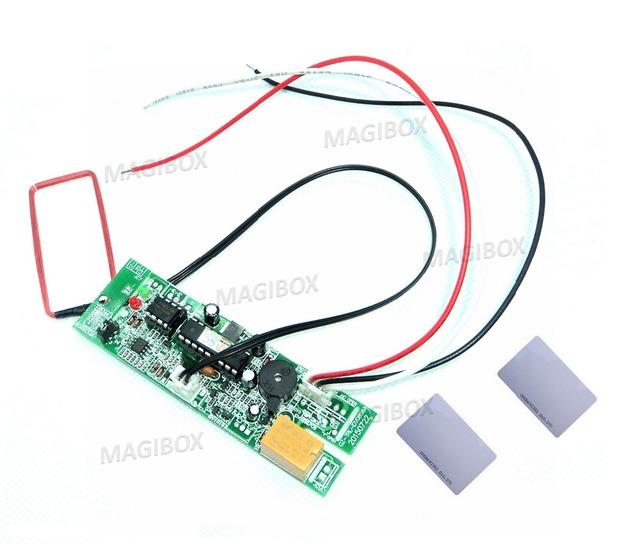 125 Khz RFID conselho incorporado módulo de saída de relé proximidade ID interfone porta sistema de controle de acesso