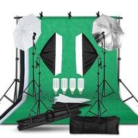 2 м x 3 м фоновая система поддержки зонт для софтбокса комплект для фотостудии продукт, портрет и видеосъемка освещение для фотосъемок