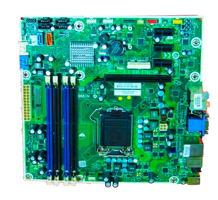 ФОТО High quality desktop Motherboard 614494-001 612500-001 601312-001 MS-7613 V1.1 H57 Socket 1156 100% tested perfect quality