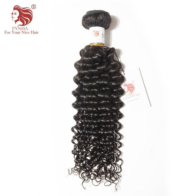 [FYNHA] Malaysian Curly Weave 100% Human Virgin Hair Bundles 12-28inch Natural Color Free Shipping