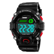 SKMEI Men Sport Watch Talking Music Alarm Clock LED Digital S Shock Wat