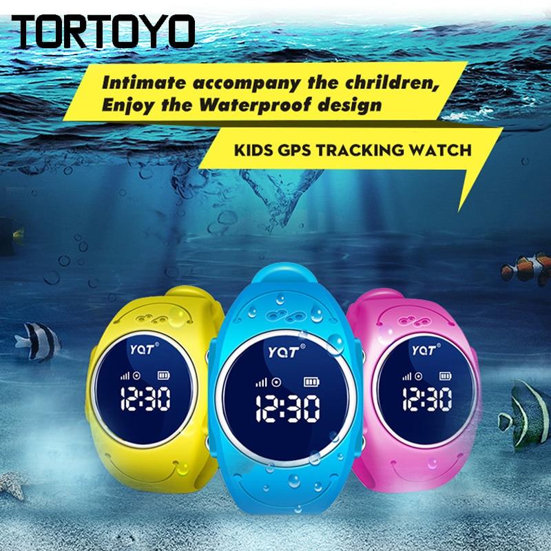 Q520S IP68 Waterproof Smart Kid GPS Tracking Watch Phone SOS Wristwatch Alarm Wifi Locator Tracker Sleep