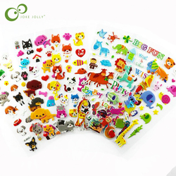 20pcs Cartoon Animals Stickers for Kids Owl Dog Sticker for Scrapbook Phone Laptop Early Educational Toys for Children GYH