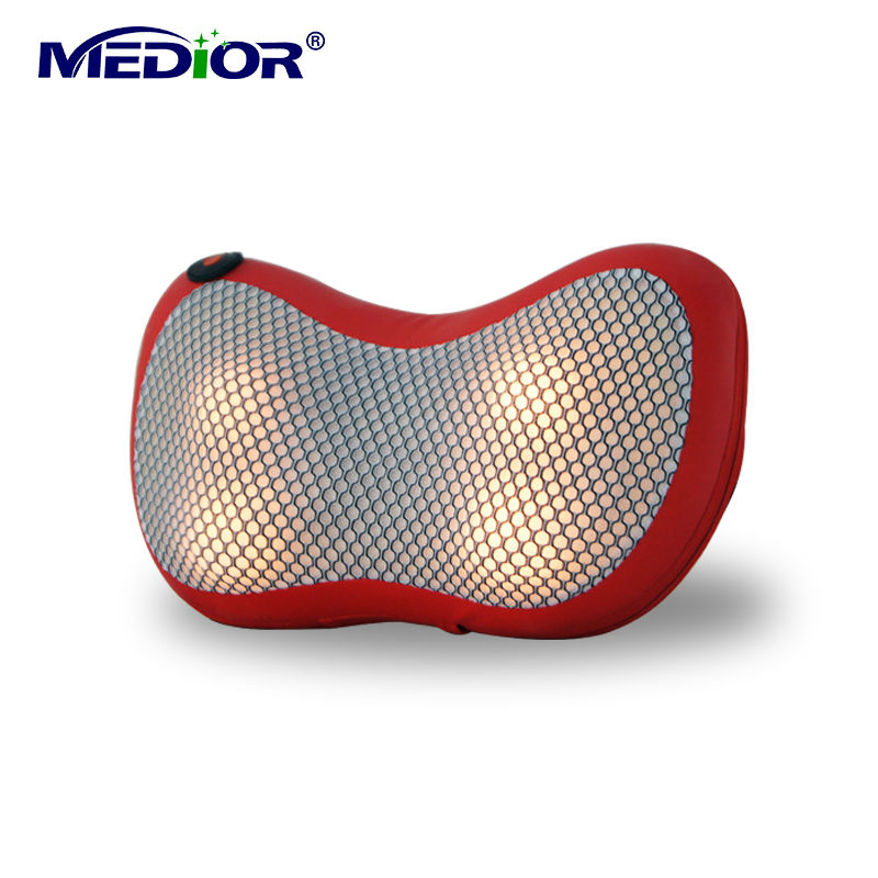 Shiatsu Massager Pillow with Heat Kneading Pillow Massager Machine for Neck Back Leg Massage for Personal