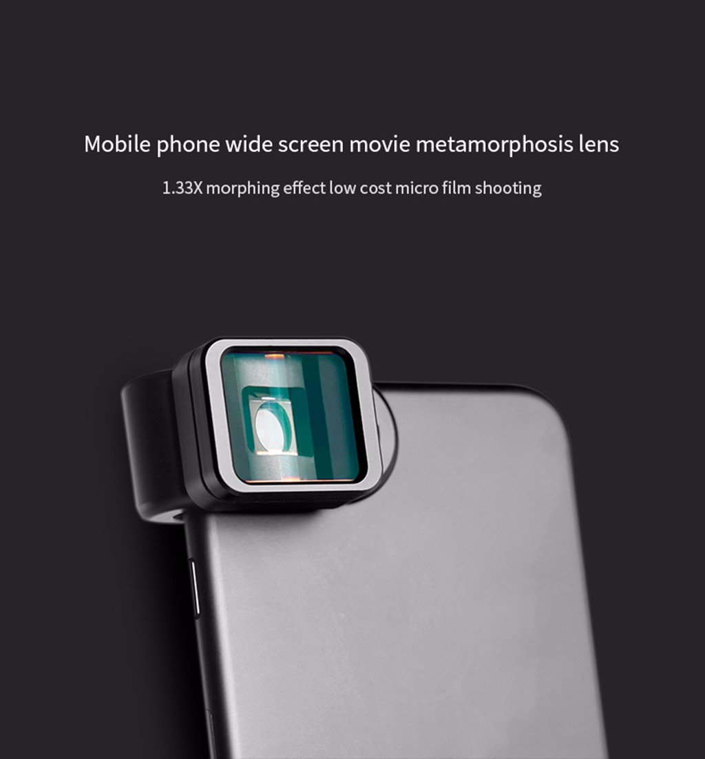 Universal Clip 1.33X Deformation Widescreen Phone Lens For iPhone For Android 2019 New Arrival fashion(China)