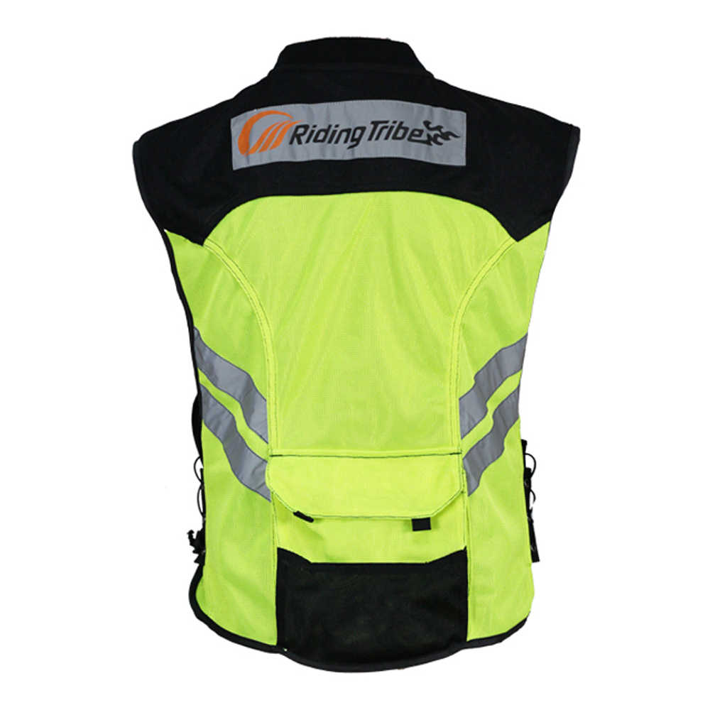 Chaleco reflectante para Moto de Riding Tribe, ropa de seguridad para Moto, chaqueta de advertencia para Moto, chaleco para equipo, uniforme para JK-22