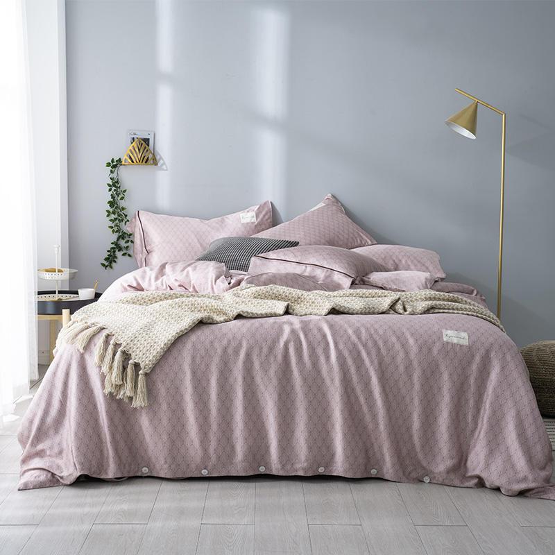Boho Tencel silk Softest Duvet cover Bed set Pillow shams Queen King size Bedding Set Bed
